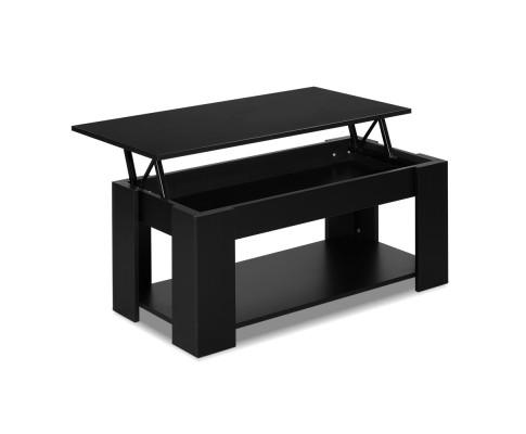 FURNI G COF LIFT BK 00 - Cindy Lift Up Top Coffee Table-Black