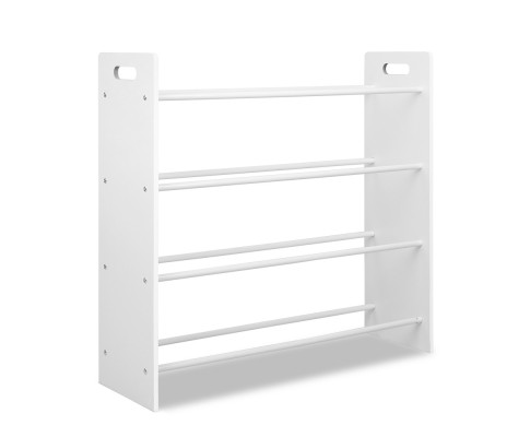 FURNI G TOY110 WH 03 - AUDREY 12 Bin Toy Rack