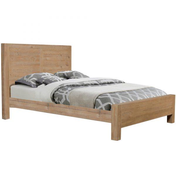BallinaEuropeanBeechWoodBed 600x600 - Ballina Bed Frame - Queen