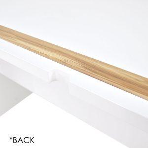 abbey 05 300x300 - Abbey Work Desk - High Gloss White & Cypress