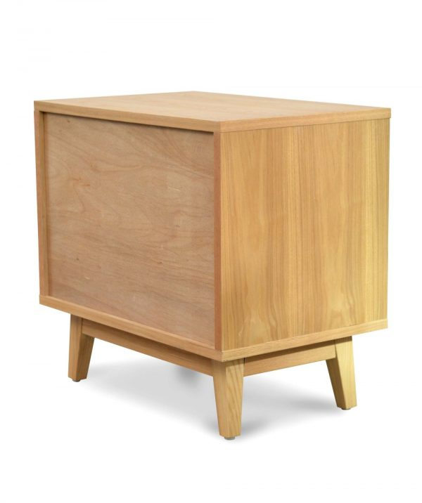 bd007 dw c 3 600x716 - Dixie Bedside White & Natural Oak