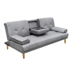 sbed r1c linen bk 00 1 300x300 - Royale 3 Seater Sofa Bed - Grey