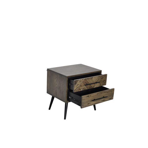 tou black bedside 03 600x600 - Toulouse Bedside Table