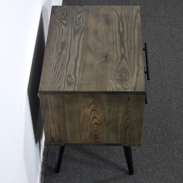 tou black bedside 05 600x600 - Toulouse Bedside Table