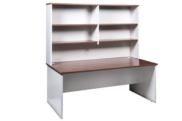 OM H18D189 600x400 - Premier Desk & Hutch 1800