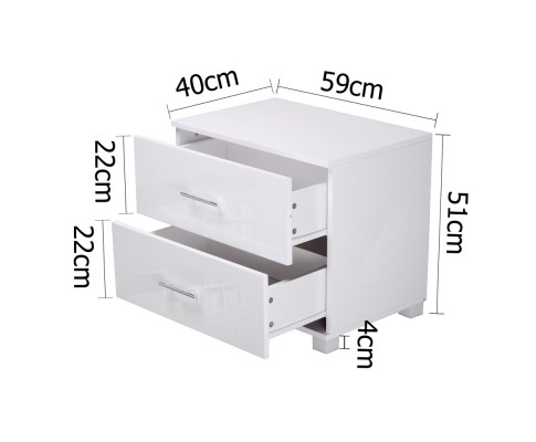 furni gloss side wh 01 1 - Jo Hi Gloss White Bedside