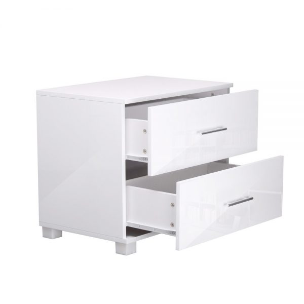 furni gloss side wh 02 600x600 - Jo Hi Gloss White Bedside