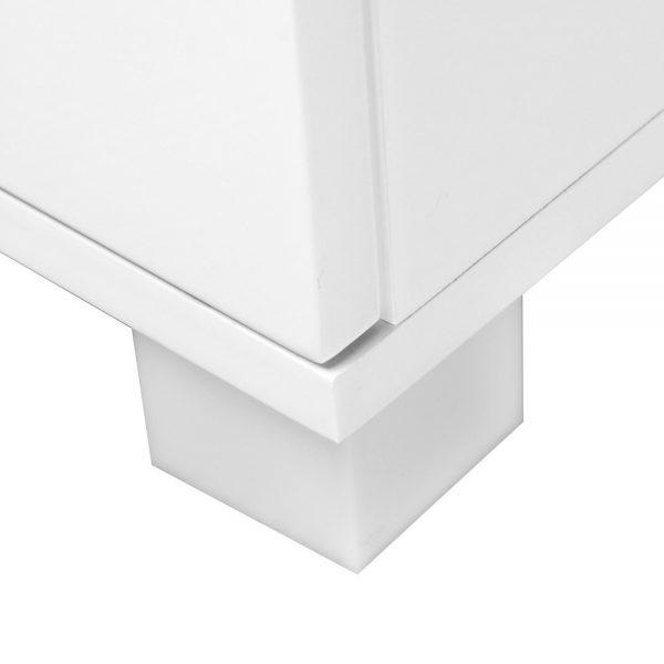 furni gloss side wh 05 600x600 - Jo Hi Gloss White Bedside