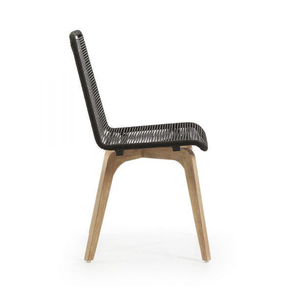 Glendon 2 600x600 - Glendon Dining Chair - Black