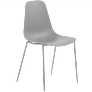 MetalDiningChair 15 300x300 - Wassu Dining Chair - Grey