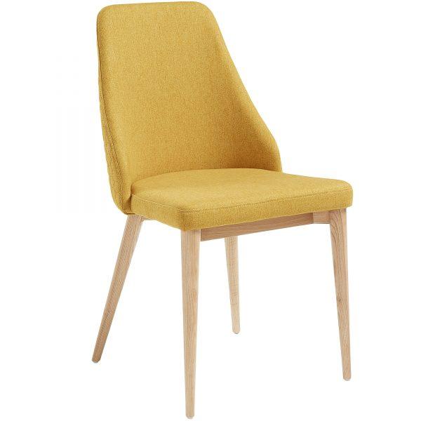 Roxie 1 600x600 - Roxie Dining Chair - Mustard