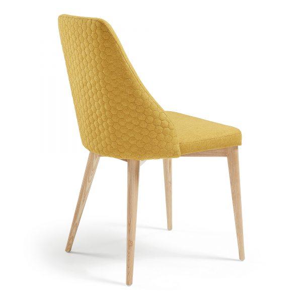 Roxie 3 600x600 - Roxie Dining Chair - Mustard