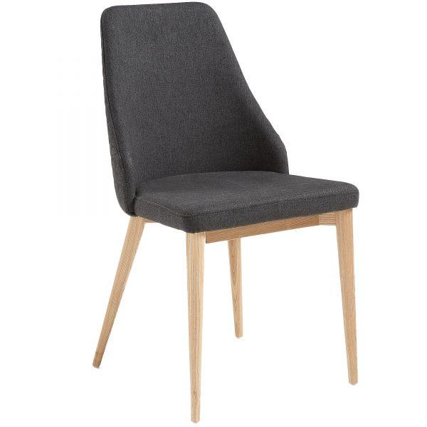 Roxie 4 600x600 - Roxie Dining Chair - Dark Grey