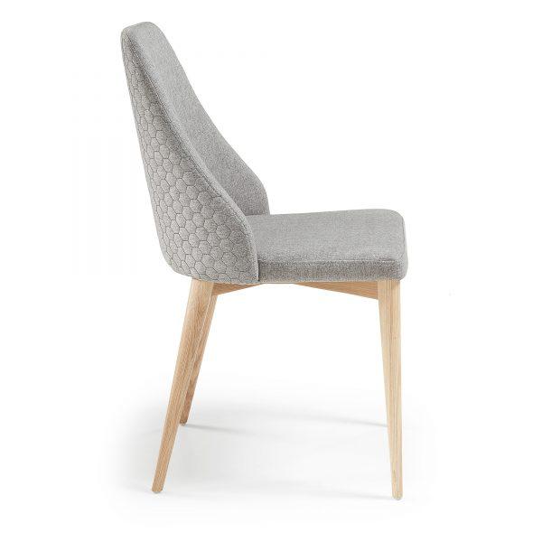 Roxie 8 600x600 - Roxie Dining Chair - Light Grey