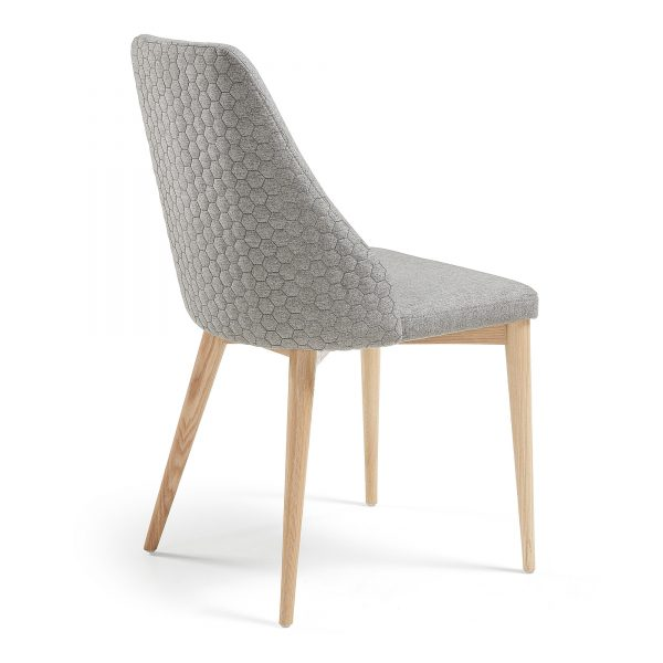 Roxie 9 600x600 - Roxie Dining Chair - Light Grey