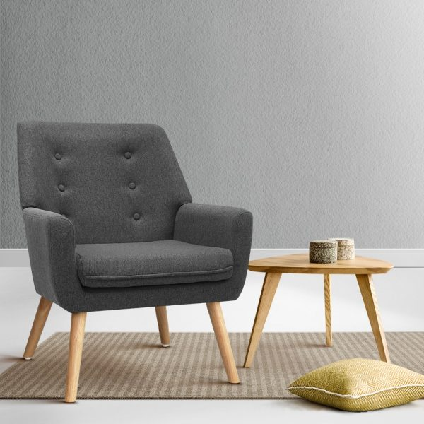 UPHO B ARM04 CHA 99 600x600 - Cleon Armchair - Charcoal
