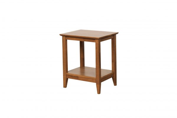 K40.14 Quadrant Lamp Table teak 600x400 - Quadrat Side Table - Teak