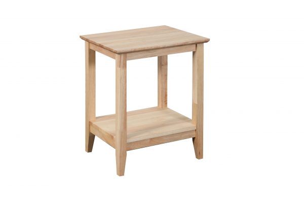 K40.15 Quadrant Rect Lamp Nat 600x400 - Quadrat Side Table - Natural
