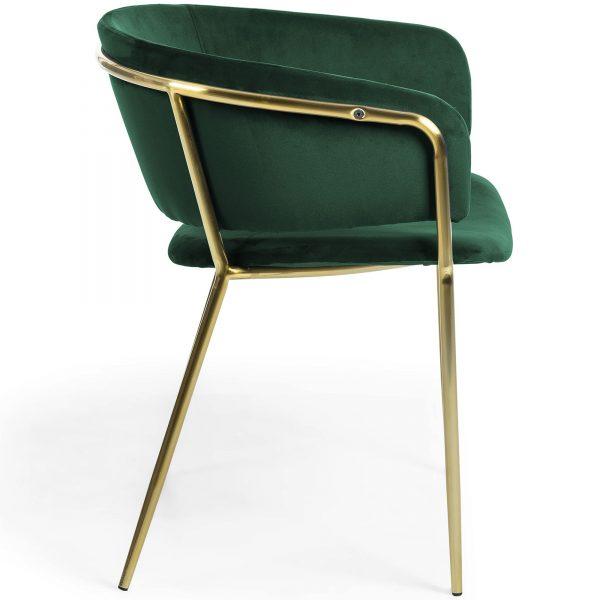 Konnie 6 600x600 - Konnie Dining Chair - Emerald Velvet/Gold