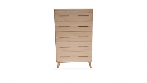 Scala Natural 600x338 - Scala 5 Drawer Tallboy - Natural