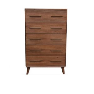 Scala1 300x300 - Scala 5 Drawer Tallboy - Walnut