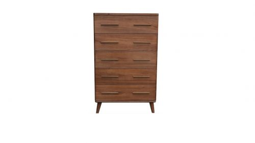 Scala1 500x281 - Scala 5 Drawer Tallboy - Walnut