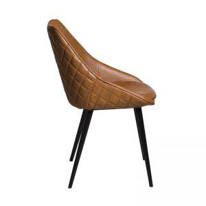 ashley2 300x300 - Ashley Dining Chair - Rust on Black Metal Frame