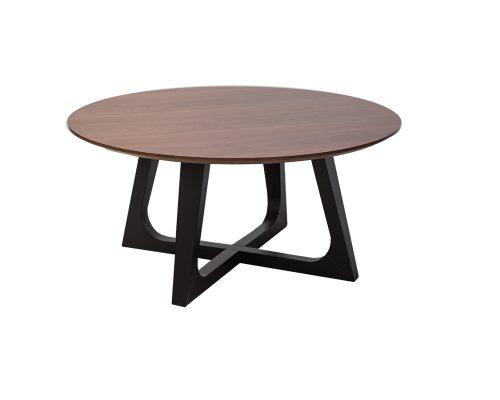 loftrd1 500x400 - Loft Round Coffee Table - Walnut