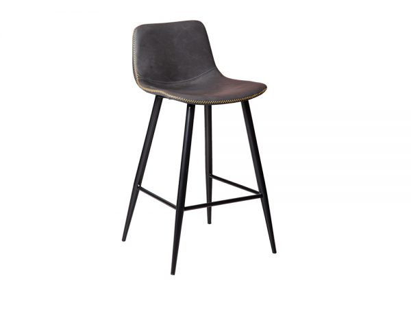 mendelf1 600x480 - Mendel Bar Stool - 4 Leg Base - GREY