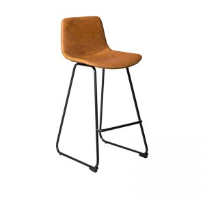 mendels2 300x300 - Mendel Bar Stool - Skid Base - Rust