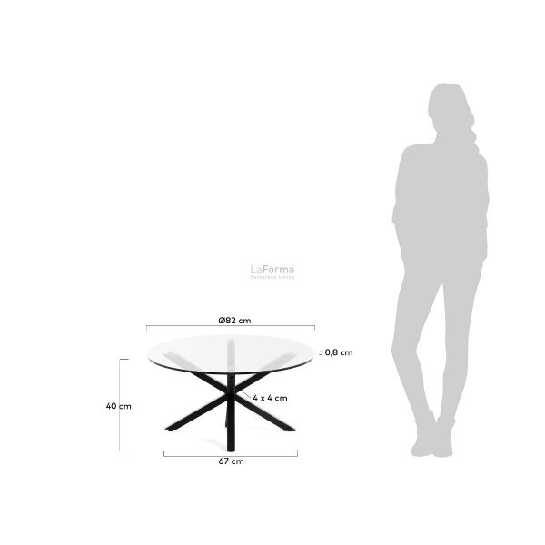 cc1357c07 3m 600x600 - Ayra 820 mm Round Coffee Table