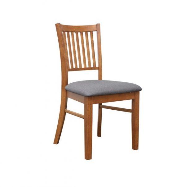 DC0003 600x602 - Austria Dining Chair - Teak Frame Truffle Fabric Seat