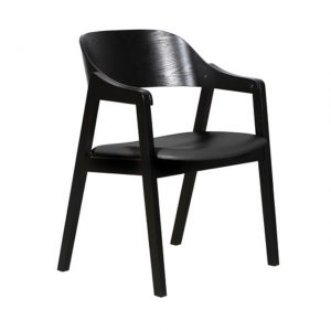 DC0025 300x300 - Norway Dining Chair - Black