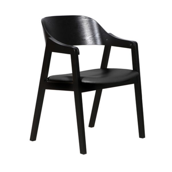 DC0025 600x600 - Norway Dining Chair - Black