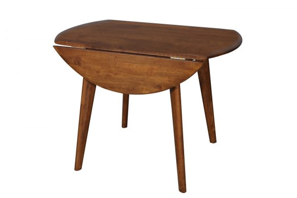 DC0037 600x400 - Drop-Side Round Dining Table Teak