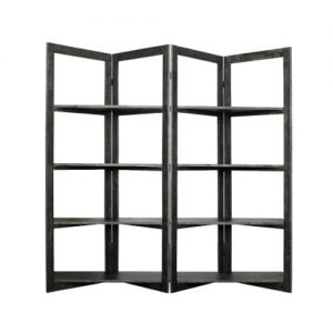 DC0059 300x300 - Scandi Room Divider Shelving - Black Wash