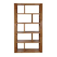 DC0060 - Marriot Staggered Bookcase - Nutmeg