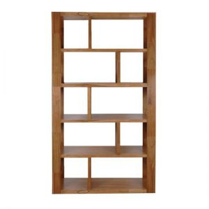 DC0060 300x300 - Marriot Staggered Bookcase - Nutmeg