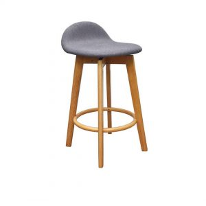 HF0043 300x300 - Caulfield Bar Stool - Natural Frame Truffle Fabric Seat
