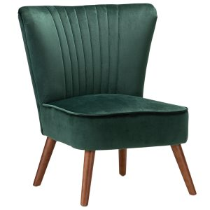 Ayana Velvet Slipper Accent Chair 300x300 - Velvet Slipper Accent Chair-Emerald Green