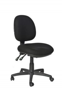 ClassicMB 1 600x902 - Classic Mid Back Office Chair-Black