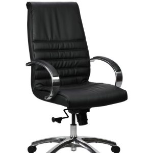 FranklinHB 1 600x902 300x300 - Franklin High Back Office Chair - Black Leather