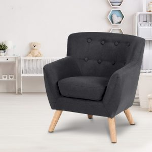 KID CHAIR A5 BK 06 300x300 - Charlie French Armchair - Black