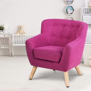 KID CHAIR A5 PK 06 300x300 - Charlie French Armchair - Pink