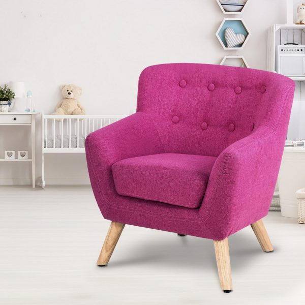 KID CHAIR A5 PK 06 600x600 - Charlie French Armchair - Pink