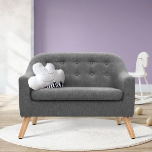 KID CHAIR A6 LIN GY 06 300x300 - Nano Kids Couch - Grey