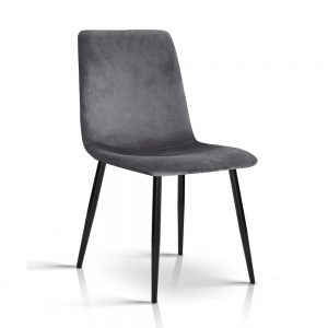 MO DIN 03 VEL GYX4 00 300x300 - Collins Velvet Dining Chair - Grey
