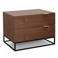 dsc 5849 - Mark Bedside Table - Walnut