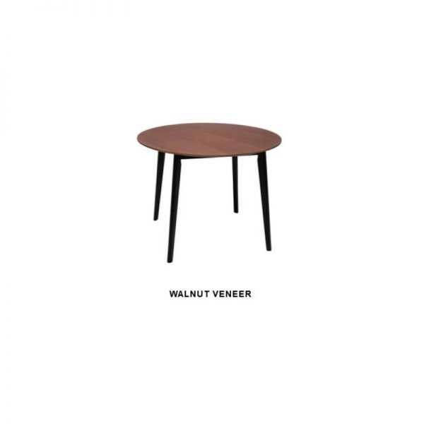 tu loft round dining table 1185452 00 600x600 - Loft Round Dining Table - Walnut