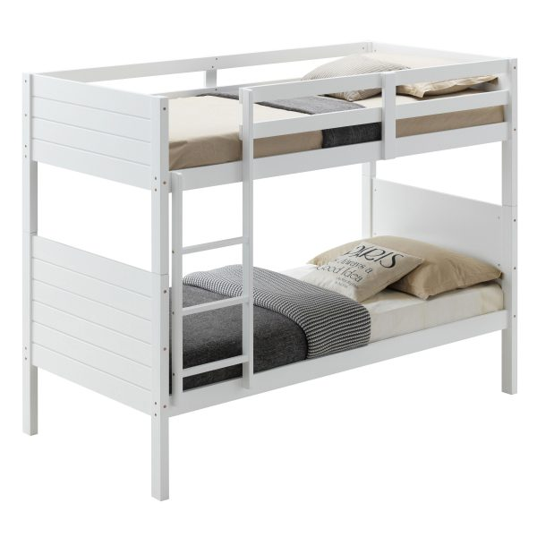 v well 01 kit 600x600 - Welling Single Bunk Bed - White